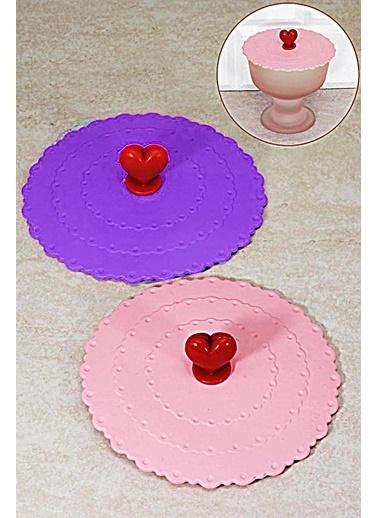 Kitchen Love 2 Li Silikon Bardak Kapağı/Koruyucu Renkli